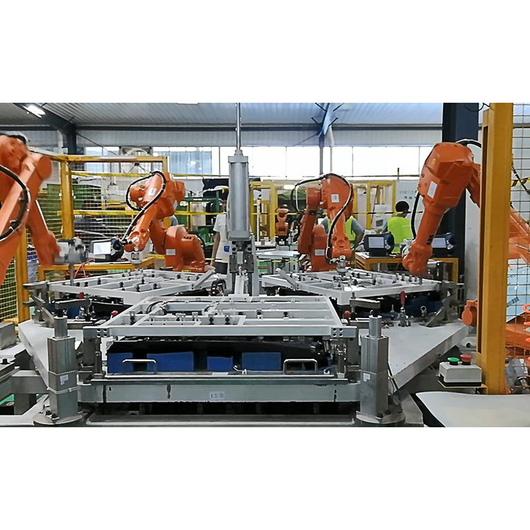 Robot Ultrasonic Welding Machine for Vehicle Door Trim